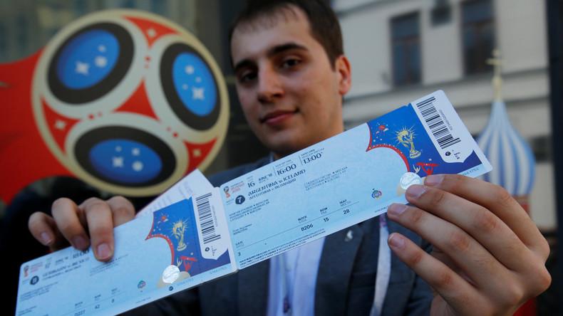 Fußball-Weltmeisterschaft 2018: 89 Prozent der Tickets verkauft