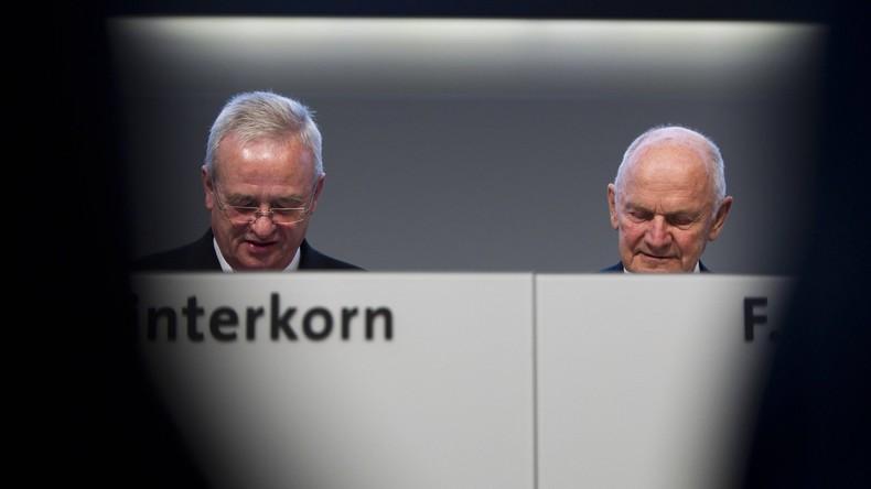 Dieselgate: Ex-VW-Chef Winterkorn in den USA angeklagt