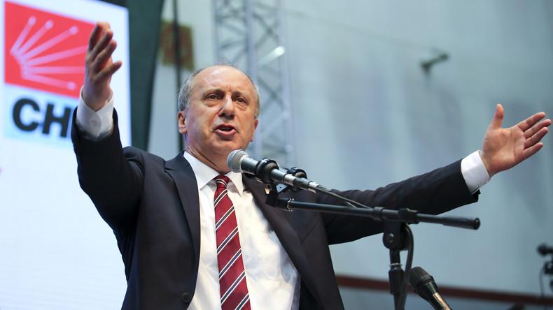 Feuer mit Feuer bekämpfen: Populist Muharrem Ince will Erdogan herausfordern