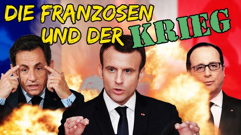 Die Franzosen und der Krieg | Sarkozy Hollande Macron | 451 Grad