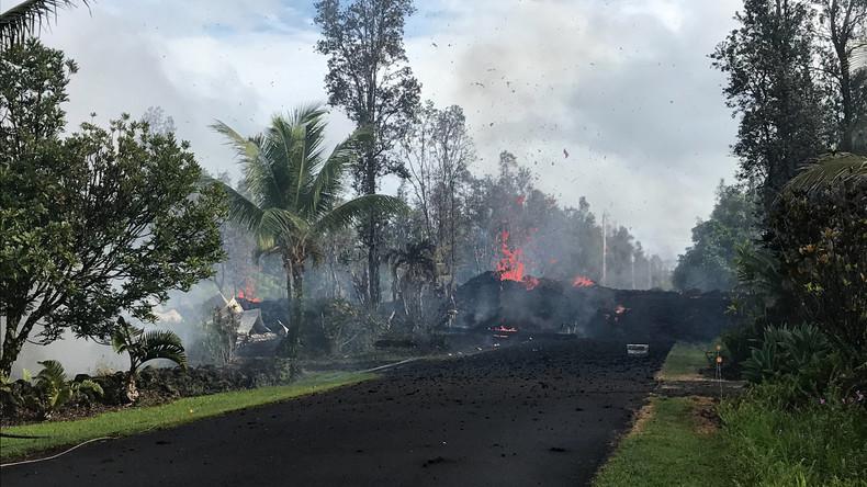 Schweres Erdbeben erschüttert Hawaii