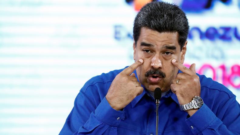 Zehn Fotos von Nicolás Maduro – Venezuelas Wahlrat stellt Wahlzettel vor