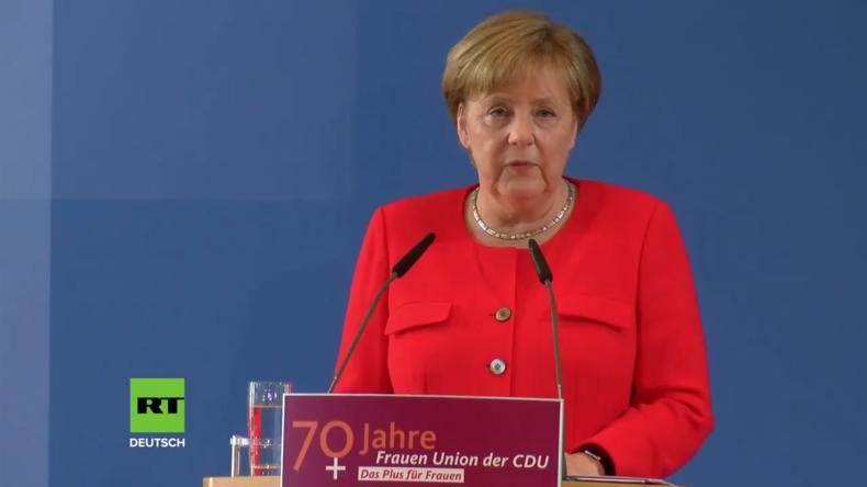 Merkel: Union genügt nicht Ansprüchen einer Volkspartei