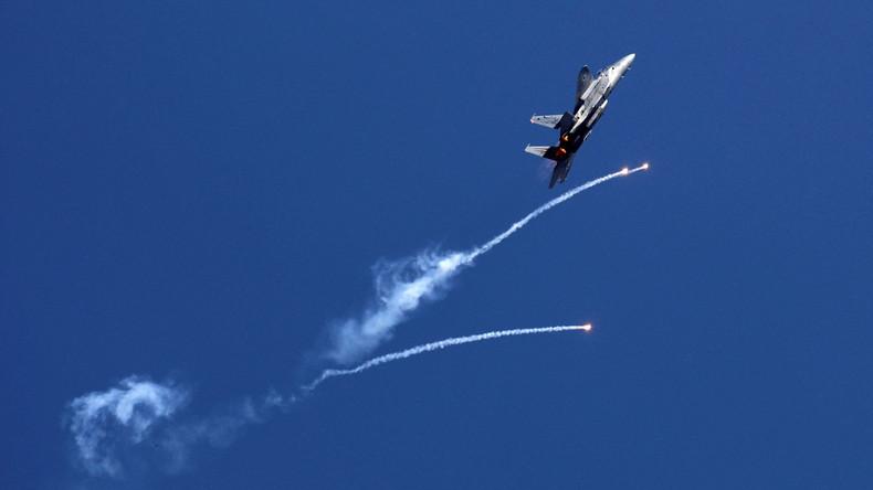 Israels Luftwaffe greift Hamas-Posten an Gaza-Grenze an