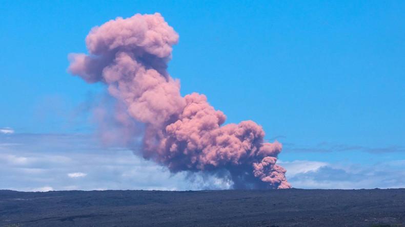 Mindestens 26 Häuser nach Vulkanausbruch auf Hawaii zerstört