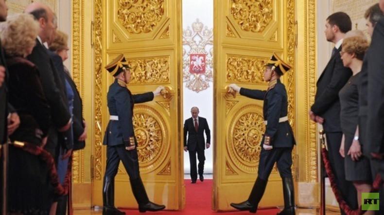 LIVE: Putins Amtseinführung als russischer Präsident in Moskau