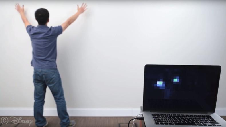 Smarte Wände: Neue Tapeten verwandeln Mauern in riesiges Touchpad