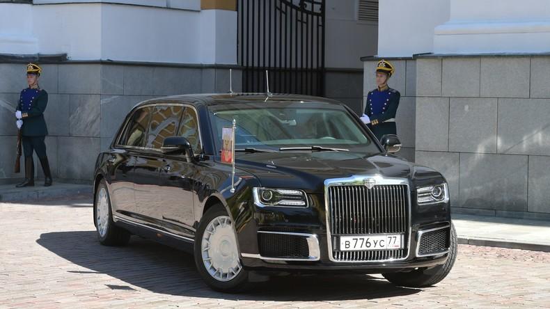 Putin fährt zur Amtseinführung vor – erstmals in neuer Staatskarosse mit Zarenmotor