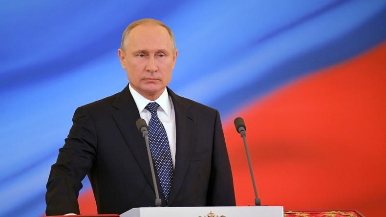 Rede anlässlich Amtseinführung - Putin für vierte Amtszeit als Präsident vereidigt