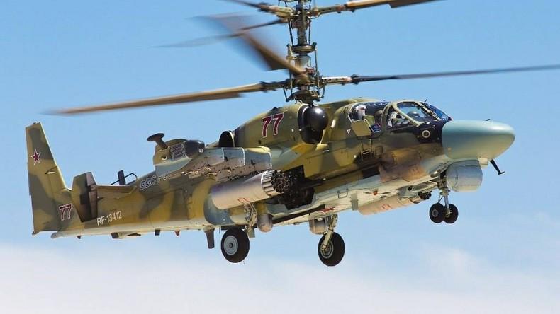 Russischer Ka-52-Hubschrauber in Syrien abgestürzt: Beide Piloten ums Leben gekommen