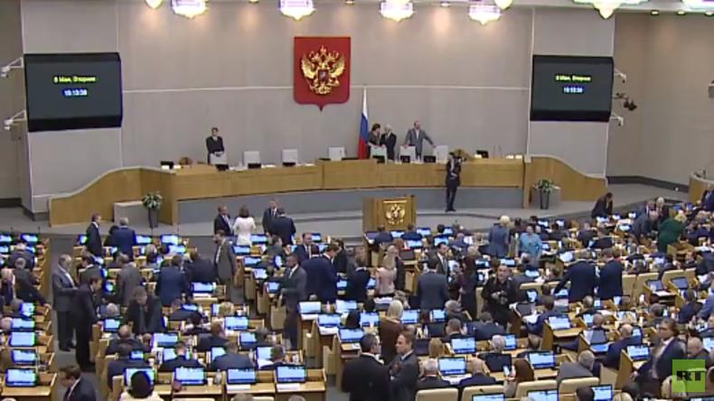 LIVE: Russische Staatsduma wählt Premierminister