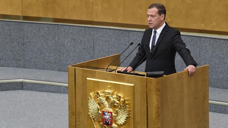 Russisches Parlament billigt Medwedew als Premierminister