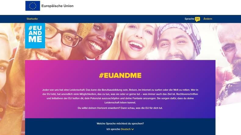 EU steckt neun Millionen Euro in Infokampagne zur Begeisterung junger Europäer