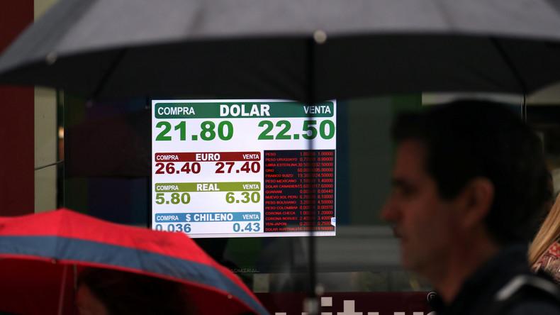 Argentinien bittet IWF um Hilfe im Kampf gegen Finanzkrise