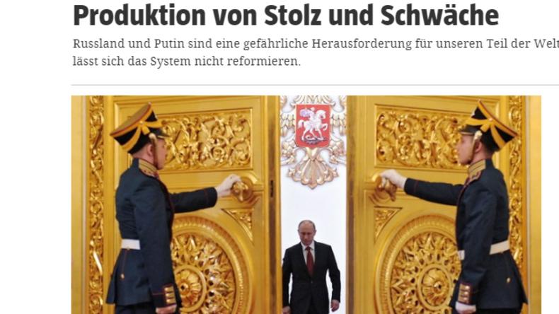 Amtseinführung Putin: Kampagnenjournalismus in der taz