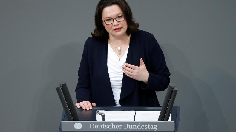 Nach Aus für Atomabkommen: SPD-Chefin wirft Trump Anschlag auf das transatlantische Bündnis vor