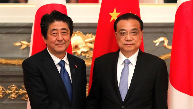 Japan und China gehen aufeinander zu: Mehrere Vereinbarungen unterzeichnet