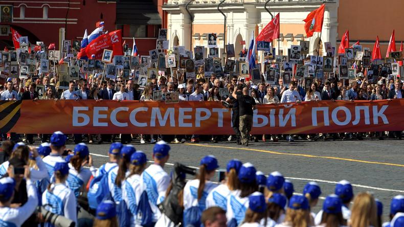 Fest des Friedens: Russland feiert das Ende des Zweiten Weltkrieges
