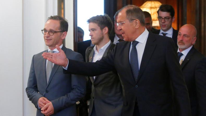Treffen von Maas und Lawrow in Moskau: Konsens im Dialog für eine friedliche Zukunft