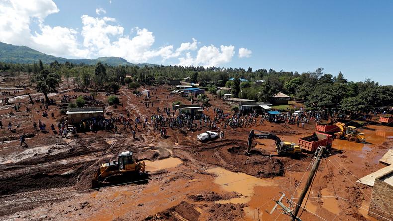 Dammbruch in Kenia: Mindestens 30 Tote