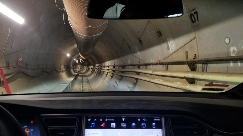 Elon Musk baut Tunnel unter Los Angeles: Inbetriebnahme in nächsten Monaten erwartet