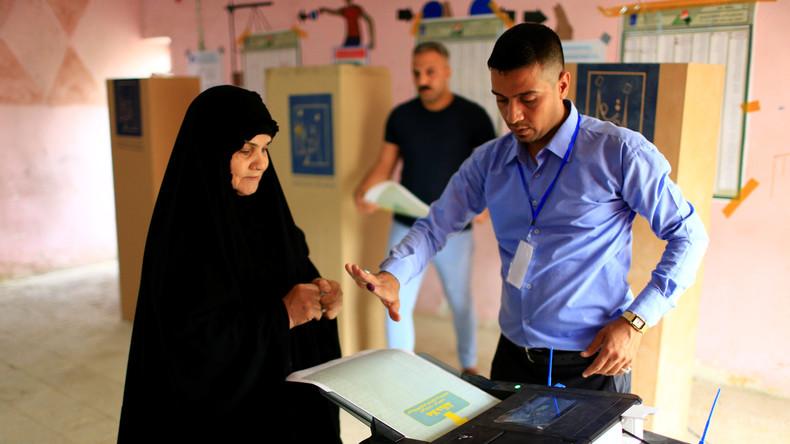 Erste Parlamentswahl im Irak nach Sieg gegen IS