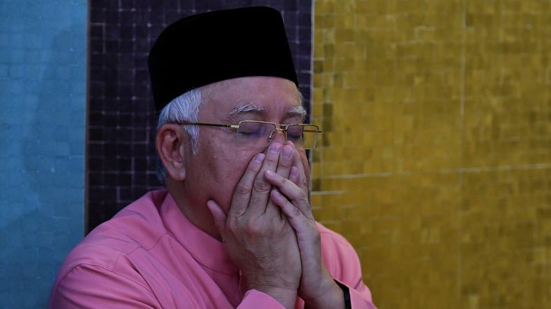Ausreiseverbot für Malaysias Ex-Regierungschef Najib Razak