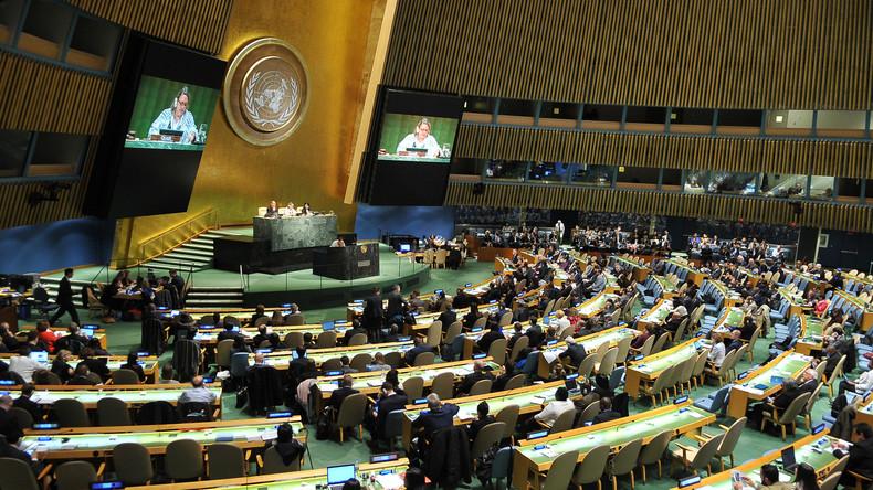 Skandal im UNO-Hauptquartier: Ukrainische Soldaten bedrohen russischen Diplomaten