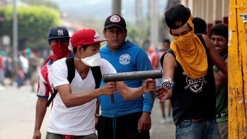 Nicaraguas Militär wirbt nach Unruhen für Dialog