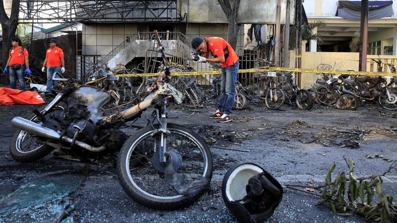 Anschläge auf Kirchen in Indonesien: Angreifer benutzten offenbar Kinder als Selbstmordattentäter