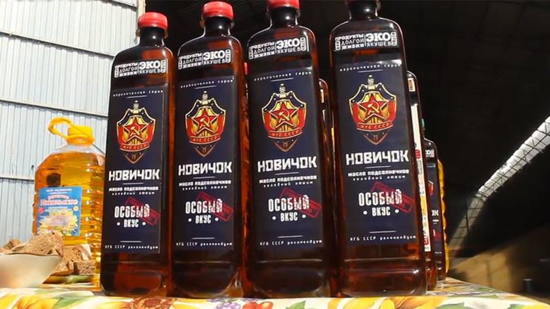 """Russischer Humor: """"Nowitschok"""" wird zum Namensgeber für schnell wachsende Produktserie"""