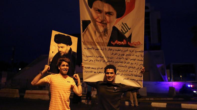 Schiitischer Geistlicher liegt bei Wahl im Irak vorn: Ministerpräsidenten al-Abadi droht Niederlage