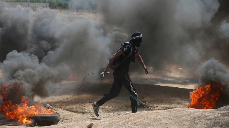 Neun Tote und zahlreiche Verletzte bei ersten Konfrontationen an Gaza-Grenze
