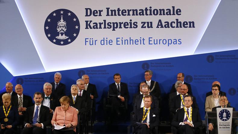 Karl der kleiner Gewordene: Schatten über obligatorischer EU-Selbstbeweihräucherung in Aachen