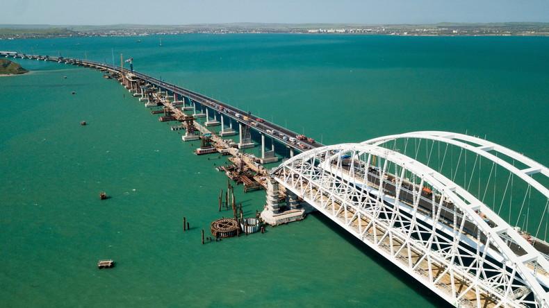 Vorzeitig fertig: Am 15. Mai wird die Krimbrücke feierlich eröffnet