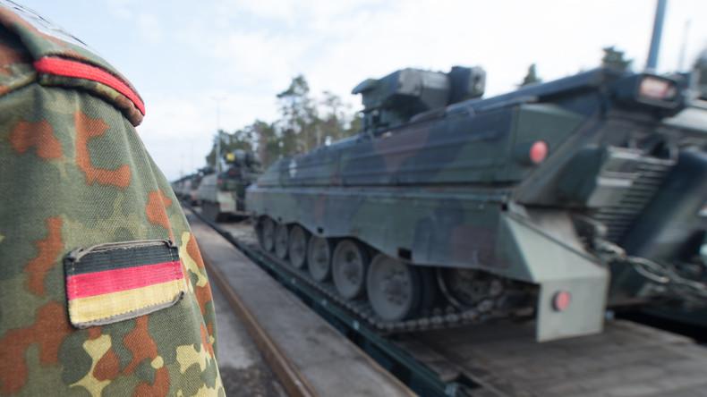 Militärübung mit deutschen Soldaten in Litauen