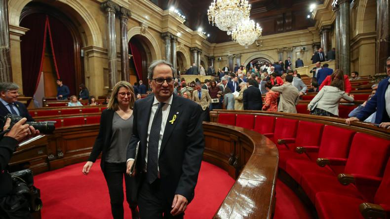 Katalonien: Quim Torra zum Regionalpräsidenten gewählt