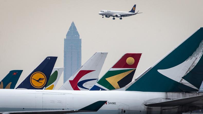 Fast 100 Flüge am Frankfurter Airport wegen Gewitter annulliert