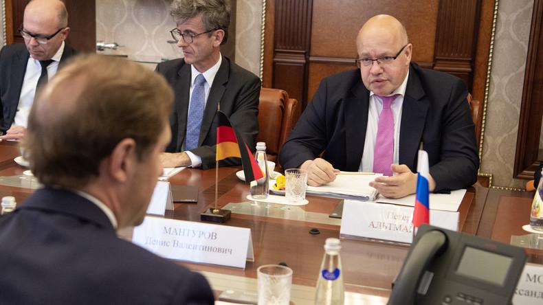 """Altmaier führt Gespräche in Moskau: """"Spannungen mit Russland abbauen"""""""