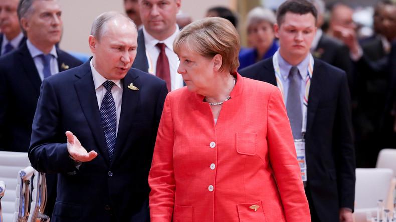 """""""Kontinentale Allianz"""": Trumps Ausstieg aus Iran-Deal könnte Merkel und Putin zusammenschweißen"""