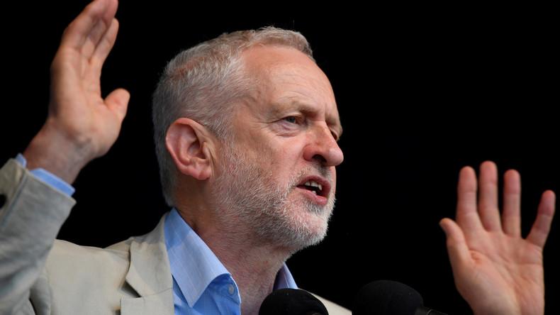 """""""Gemetzel"""" und """"Abschlachtung"""": Jeremy Corbyn findet deutliche Worte zur Gewalt in Gaza"""