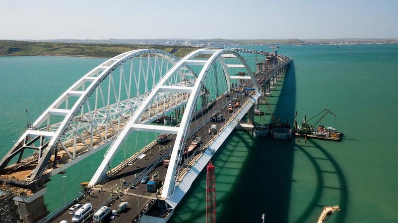 LIVE: Wladimir Putin eröffnet vorzeitig fertiggestellte Krim-Brücke