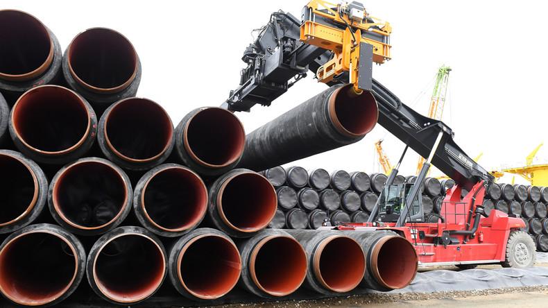 Bau der Pipeline Nord Stream 2 startet im Greifswalder Bodden