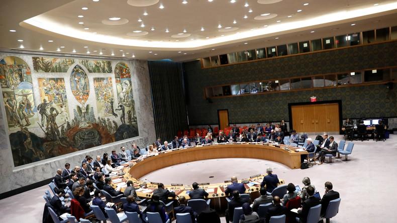LIVE: Sitzung des UN-Sicherheitsrats zur Lage in den palästinensischen Gebieten und Nahost