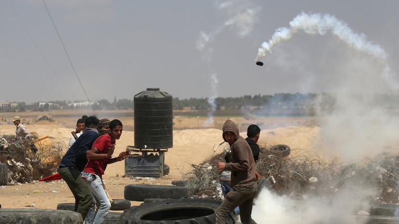 Live: Erneute massive Proteste im Gaza-Streifen an der Grenze zu Israel