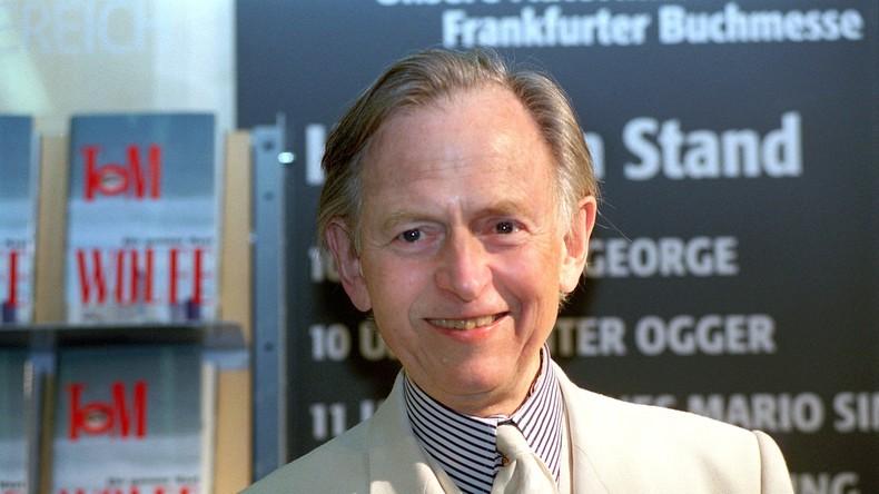 Schriftsteller und Journalist Tom Wolfe gestorben