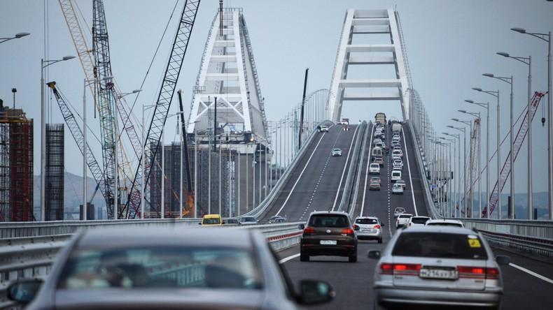 Nach nur vier Jahren: Krimbrücke für Automobilverkehr geöffnet