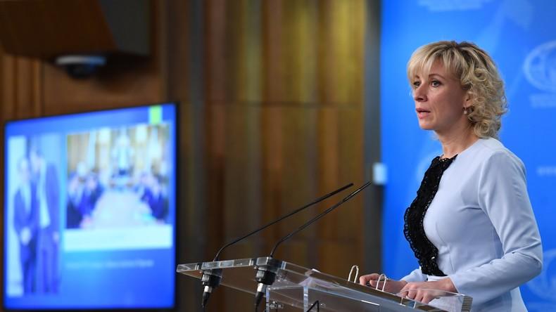 LIVE: Wöchentliches Pressebriefing des russischen Außenministeriums - Krim, Israel, Syrien, Skripal