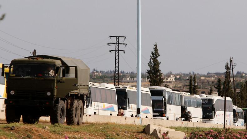 Syrien: Bewaffnete Regierungsgegner verlassen Ortschaften im Osten der Provinz Homs