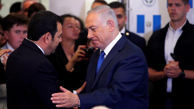 Guatemala folgt dem Beispiel der USA und weiht seine Botschaft in Jerusalem ein